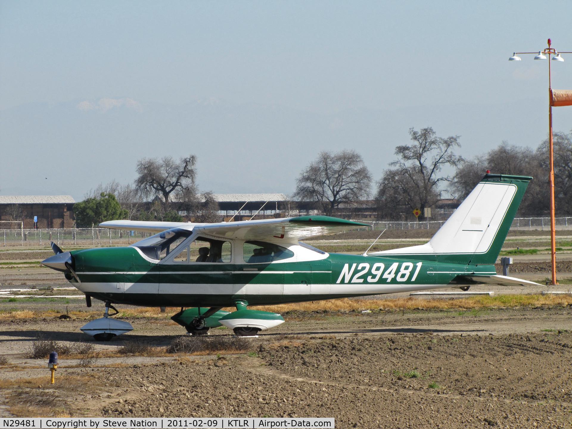 N29481, 1968 Cessna 177 Cardinal C/N 17700916, 1968 Cessna 177 Cardinal @ Tulare, CA