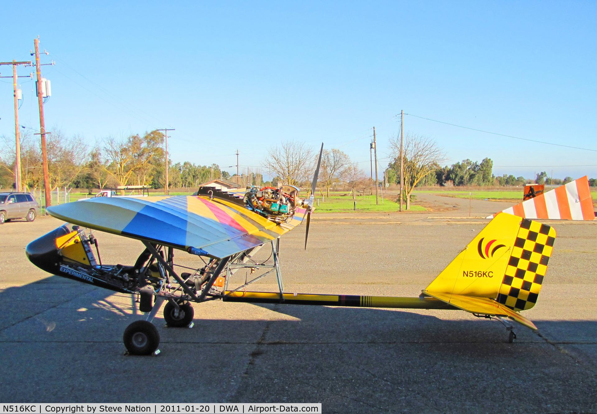 N516KC, Rans S-18 Stinger II C/N 0504040, 2010 McCarty RANS S-18 homebuilt @ Yolo County Airport, CA