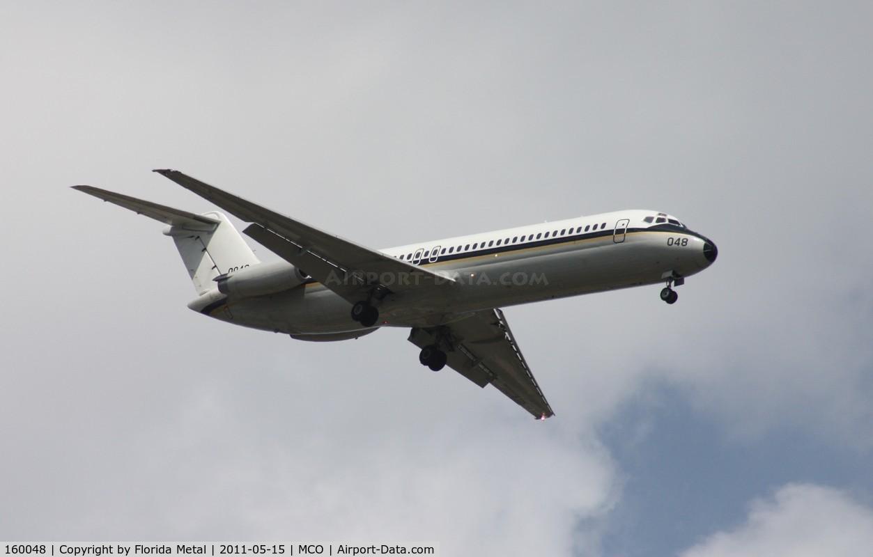 160048, 1975 McDonnell Douglas C-9B Skytrain II C/N 47681, Skytrain II