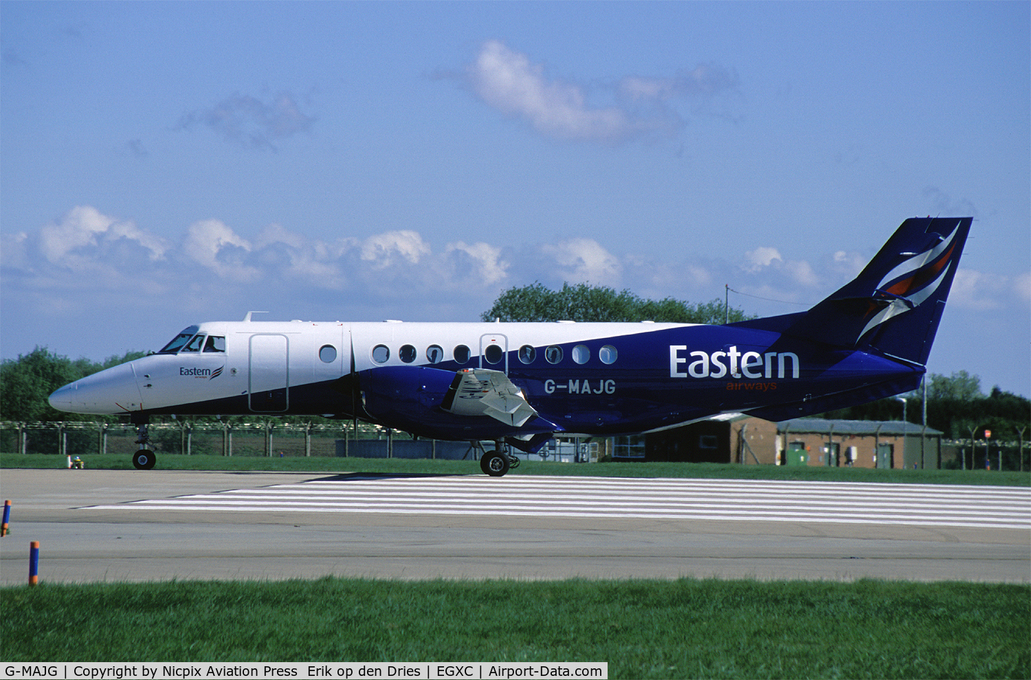 G-MAJG, 1993 British Aerospace Jetstream 41 C/N 41009, G-MAJG was the daily taxi to and from RAF Marham.