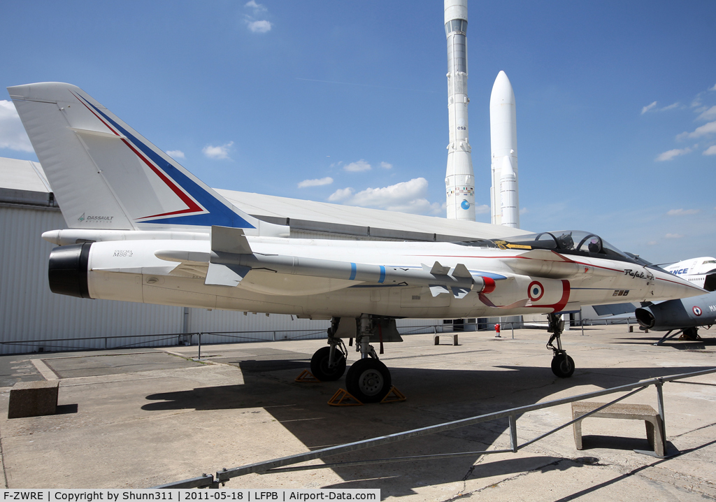 F-ZWRE, 1986 Dassault Rafale A C/N 01, Preserved at Le Bourget Museum...