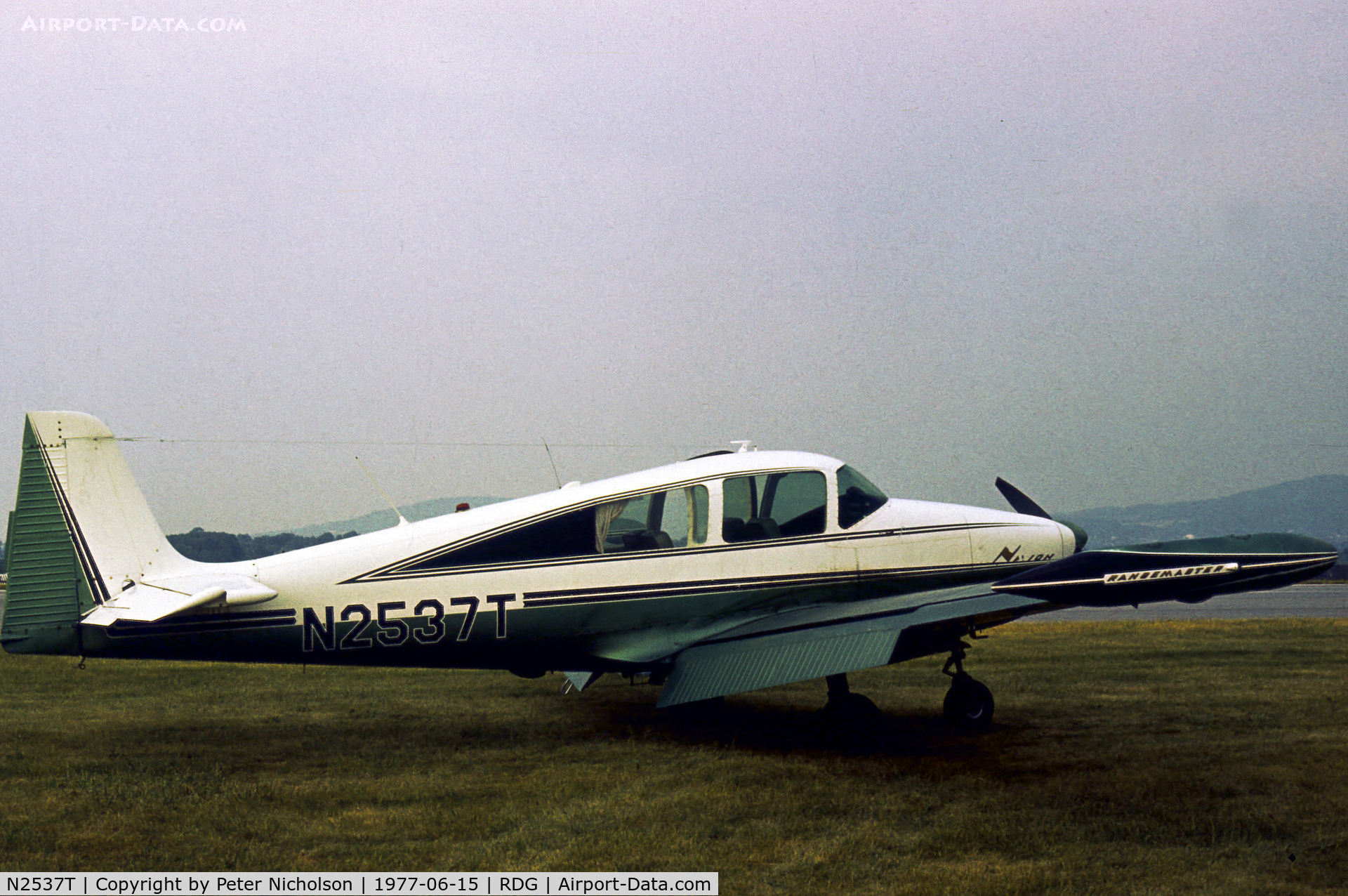 N2537T, 1970 Navion Rangemaster H C/N NAV-4-2537, Navion Rangemaster seen at the 1977 Reading Airshow.