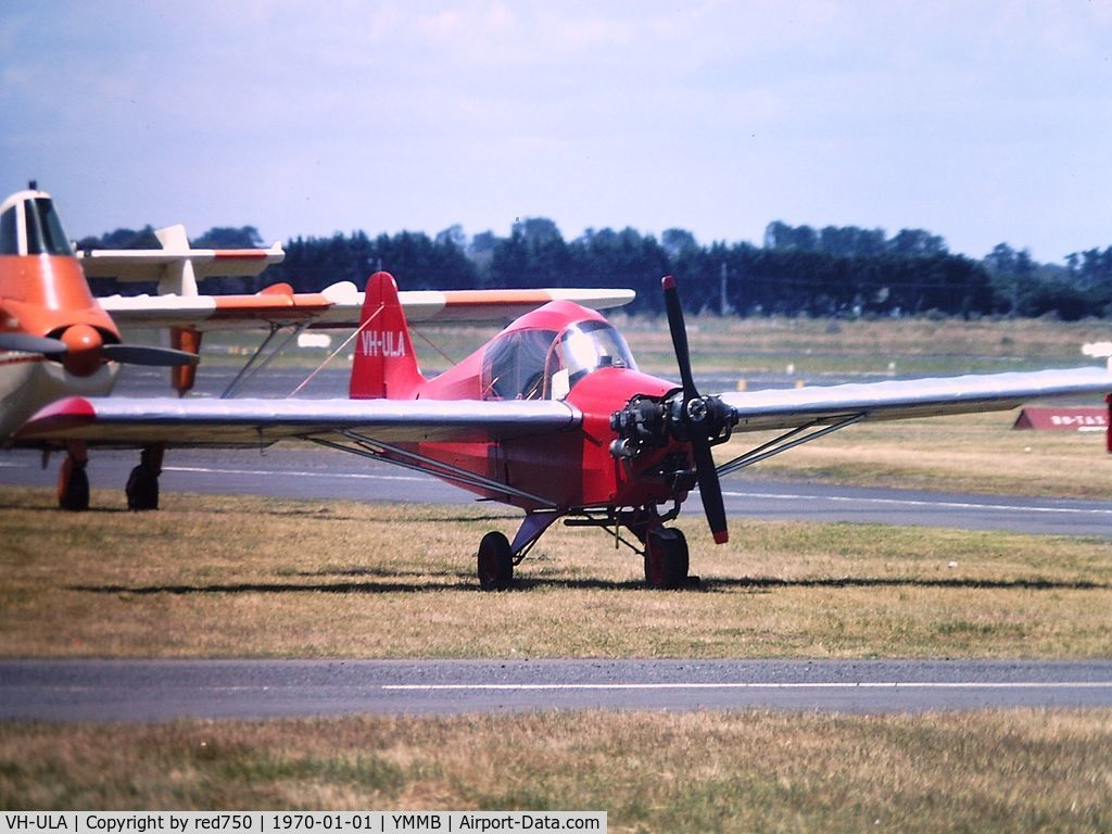 VH-ULA, 1958 Stits SA-6B Flut-r-Bug C/N 122/V6, Scanned from a slide.