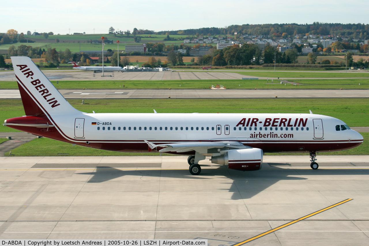 D-ABDA, 2005 Airbus A320-214 C/N 2539, Air Berlin
