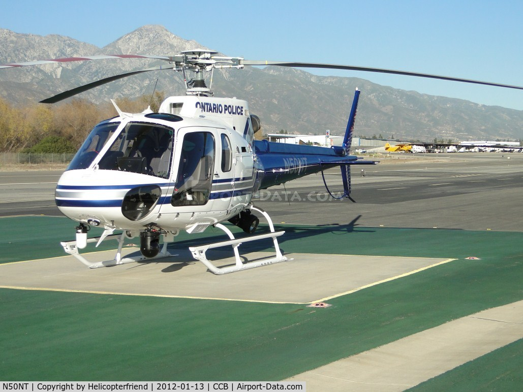 N50NT, 2011 Eurocopter AS-350B-2 Ecureuil C/N 7169, Ontario PD's newest ship