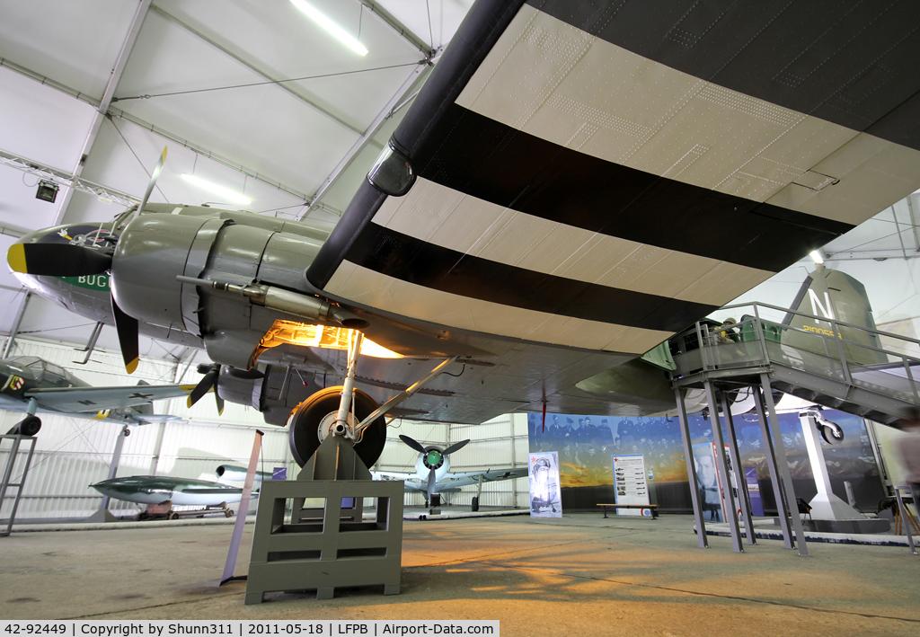 42-92449, 1944 Douglas C-47A-10-DK skytrain C/N 12251, Preserved @ Le Bourget Museum... Left side...