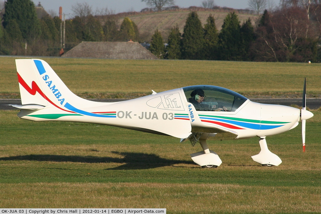 OK-JUA 03, Urban Air UFM-10 Samba C/N Not found OK-JUA 03, at the Icicle 2012 fly in
