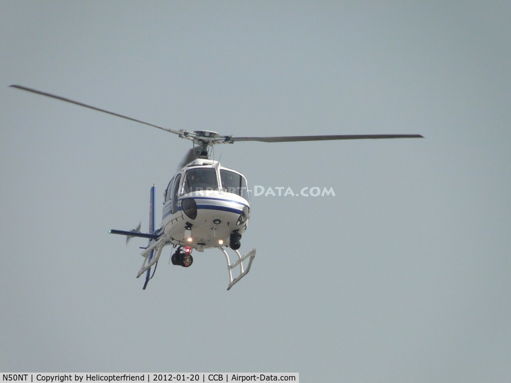 N50NT, 2011 Eurocopter AS-350B-2 C/N 7169, Starting to turn final leg for Ontario helipad