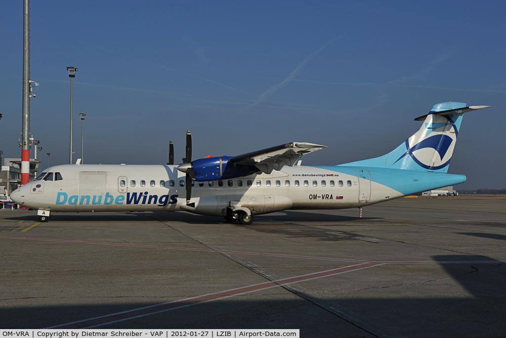 OM-VRA, 1993 ATR 72-202 C/N 373, Danube Wings ATR72