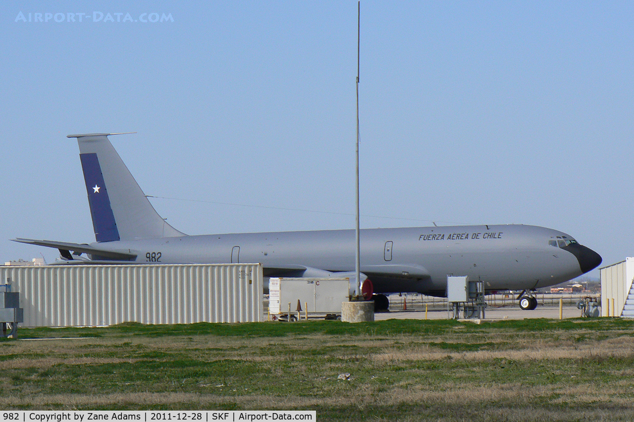 982, Boeing KC-135E Stratotanker C/N 17730, Chilean Air Force KC-135E at Kelly AFB - San Antonio, TX