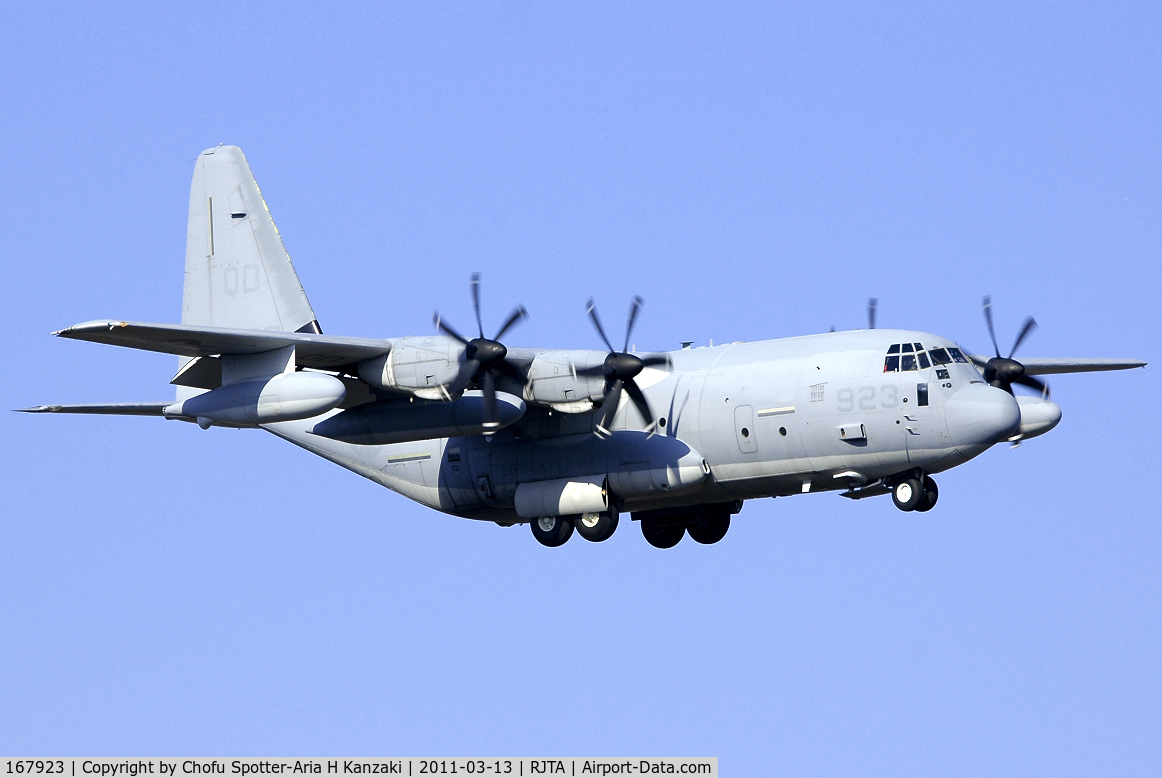 167923, Lockheed Martin KC-130J Hercules C/N 382-5590, NikonD70+AMRON AF 200-500mm F/5-6.3 LD IF