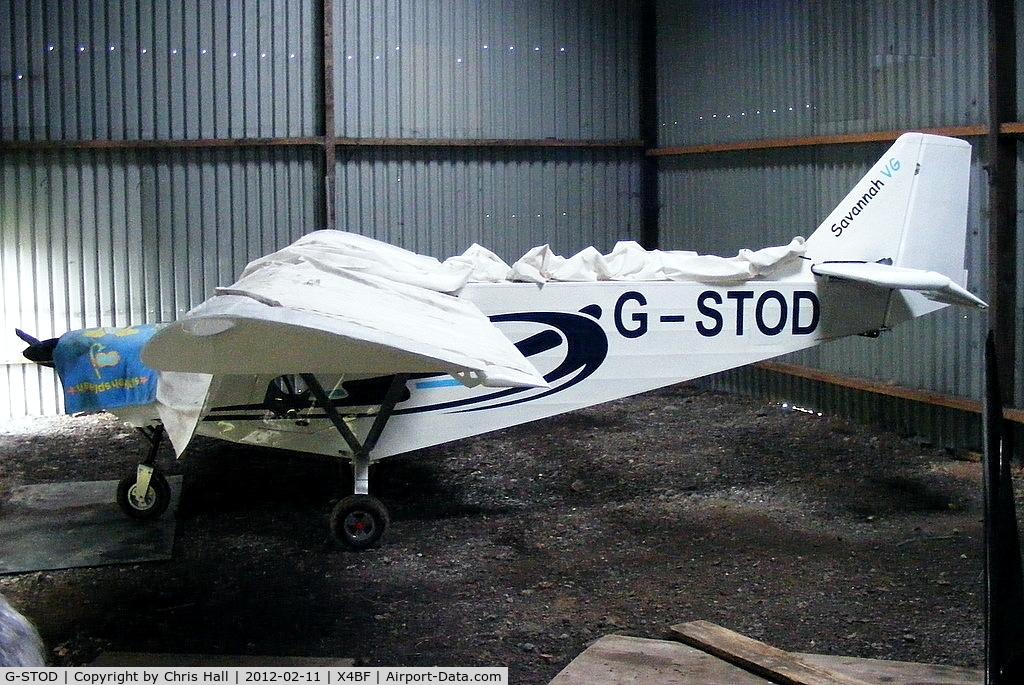 G-STOD, 2010 ICP MXP-740 Savannah VG Jabiru(1) C/N BMAA/HB/598, At Brook Farm airstrip, Pilling
