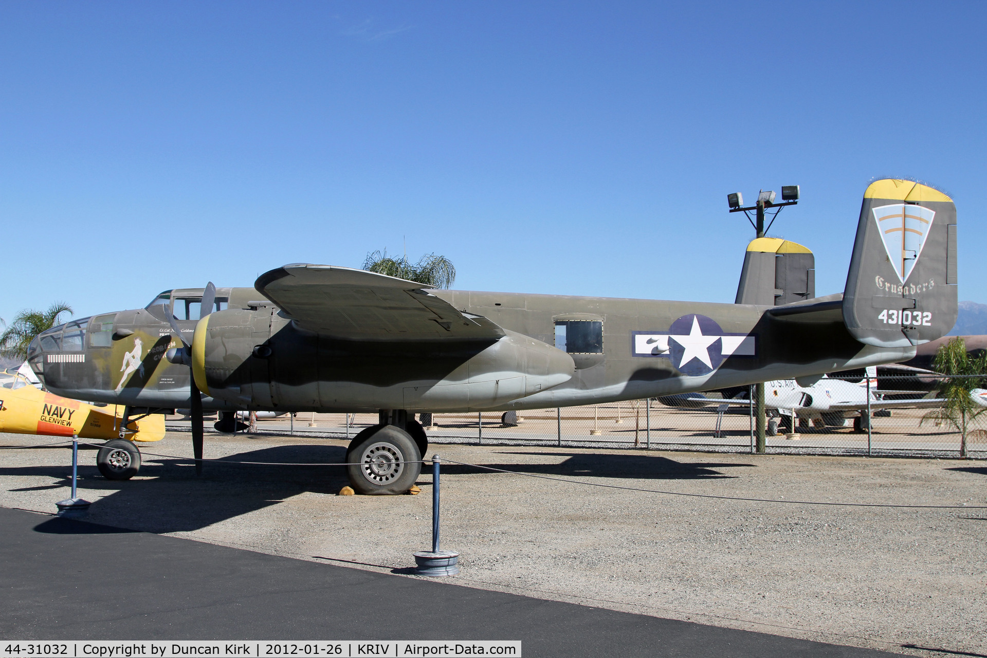 44-31032, 1944 North American B-25J Mitchell C/N 108-35357, The museum is well worth the visit
