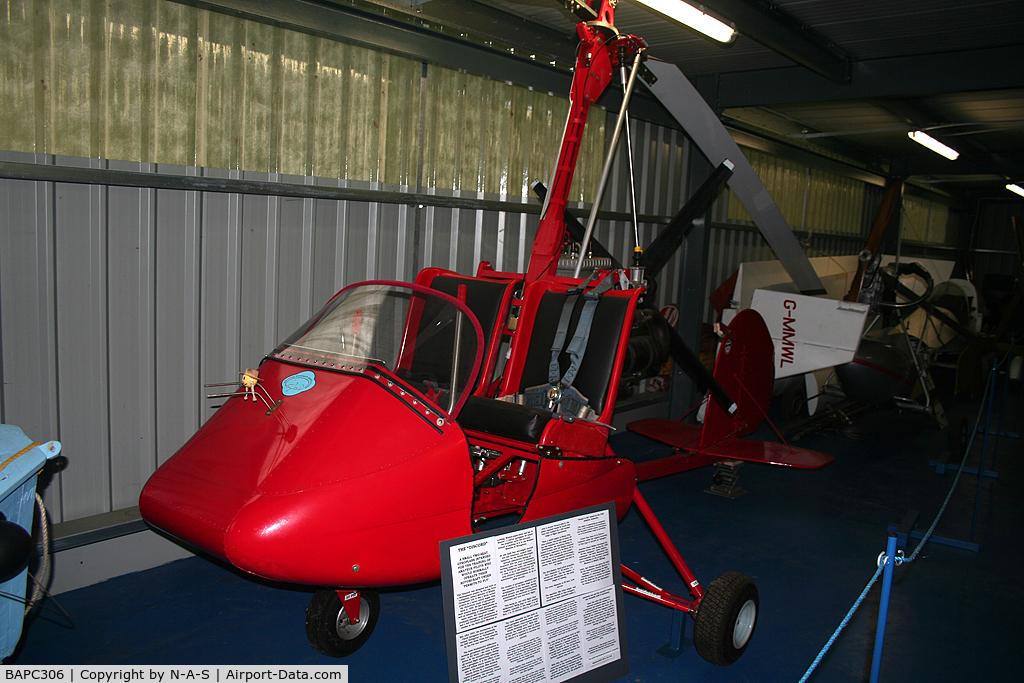BAPC306, Lovegrove Autogyro Trainer C/N BAPC.306, Gyrocopter at Flixton