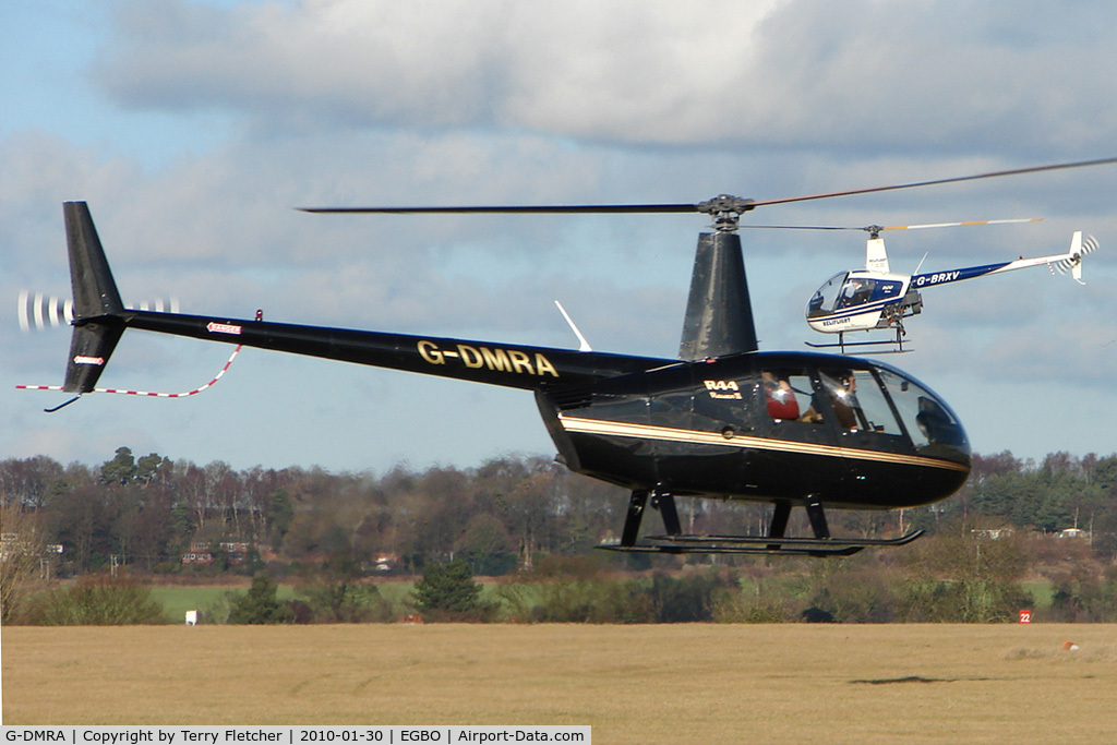 G-DMRA, 2007 Robinson R44 Raven II C/N 11802, Helicopters training at Wolverhampton Airport