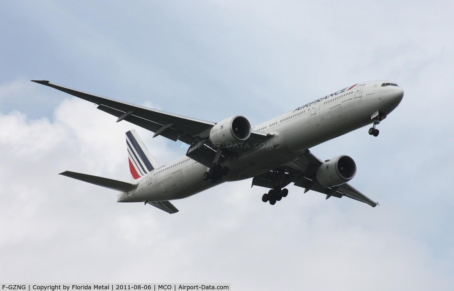 F-GZNG, 2009 Boeing 777-328/ER C/N 32968, Air France 777-300