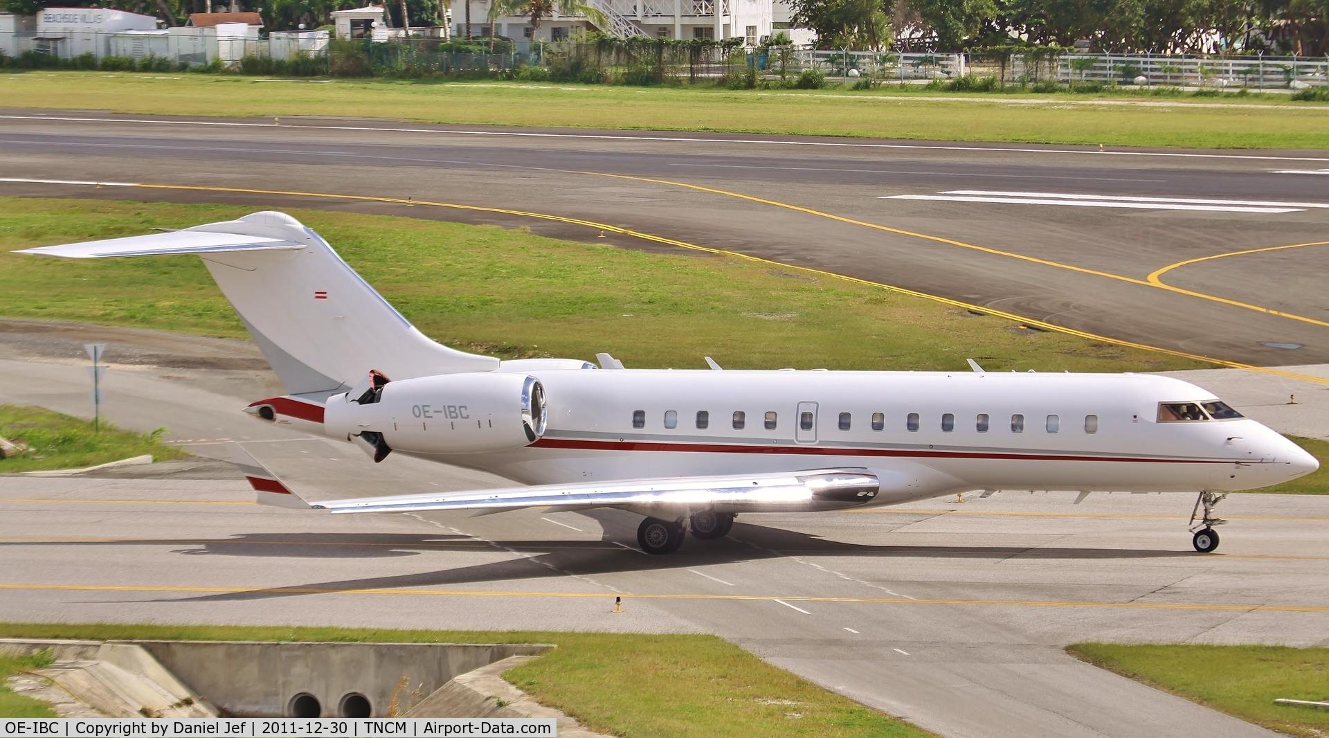 OE-IBC, 2007 Bombardier BD-700-1A11 Global 5000 C/N 9269, OE-IBC