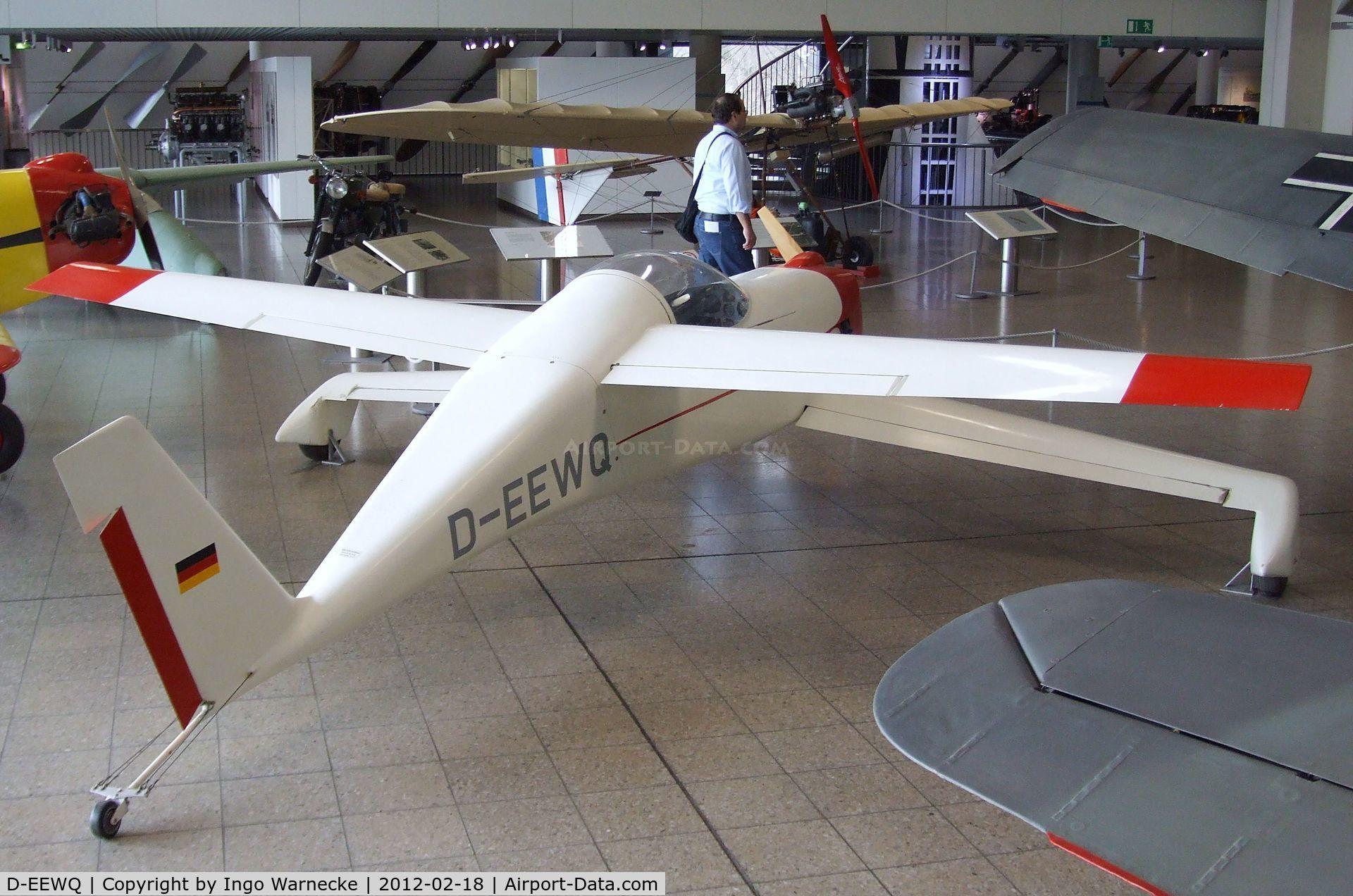 D-EEWQ, 1981 QAC Quickie Q1 C/N 1, Quickie Q1 at the Deutsches Museum, München (Munich)