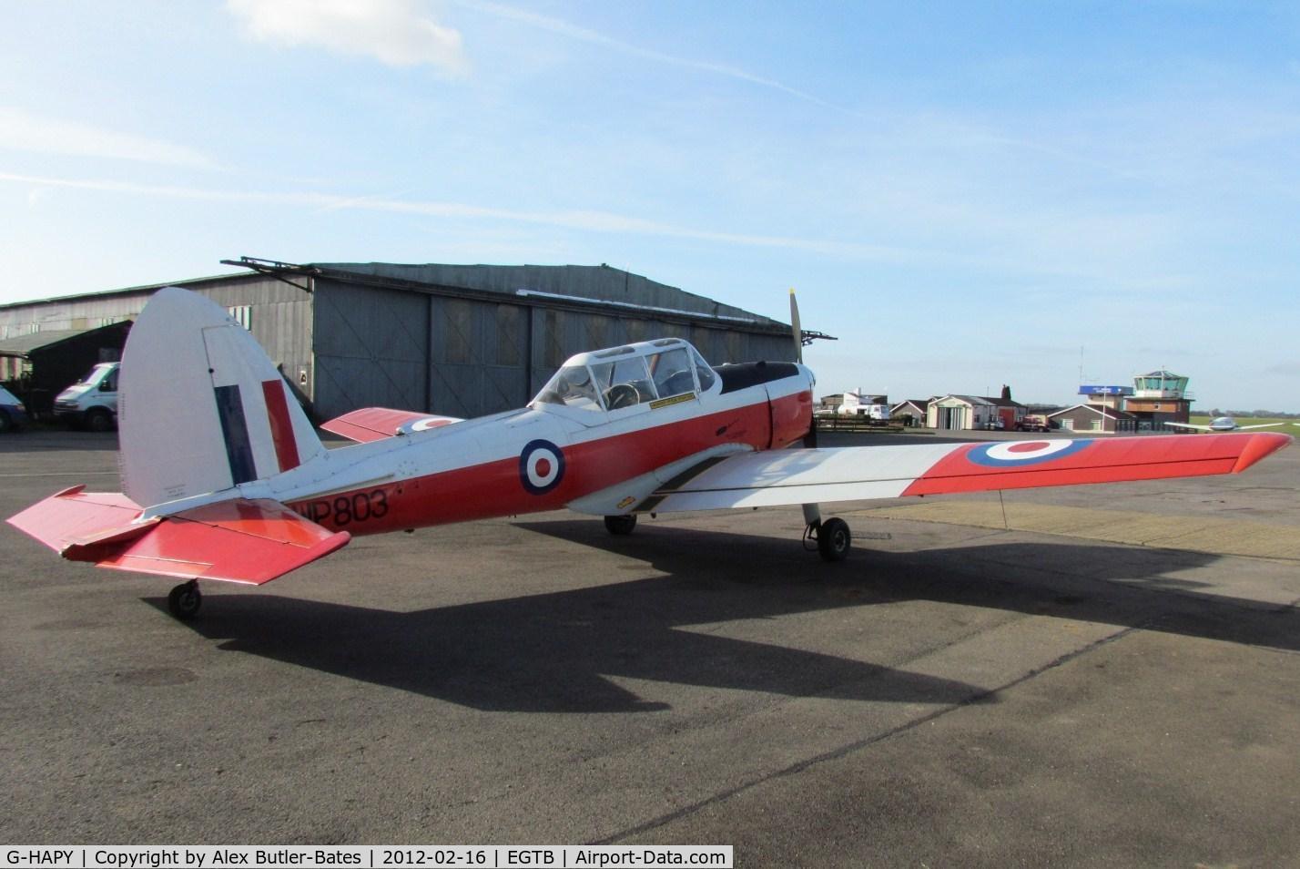 G-HAPY, 1952 De Havilland DHC-1 Chipmunk T.10 C/N C1/0697,