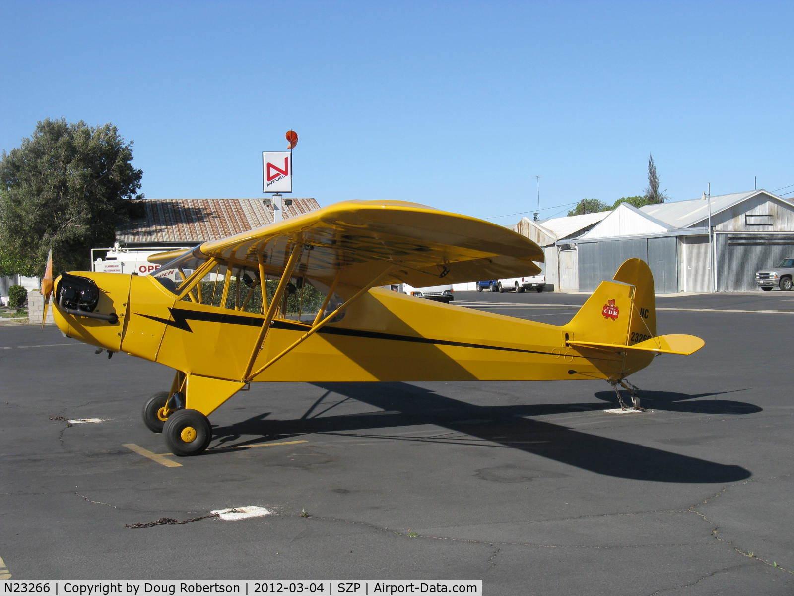 N23266, 1939 Piper J3C-65 C/N 3113, 1939 Piper J3C-65 CUB, Continental A&C65 65 Hp