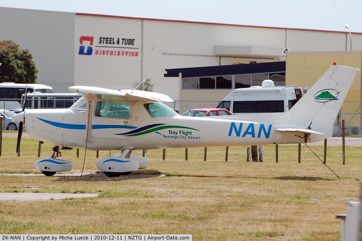 ZK-NAN, 1979 Cessna 152 II C/N 152-83265, At Tauranga