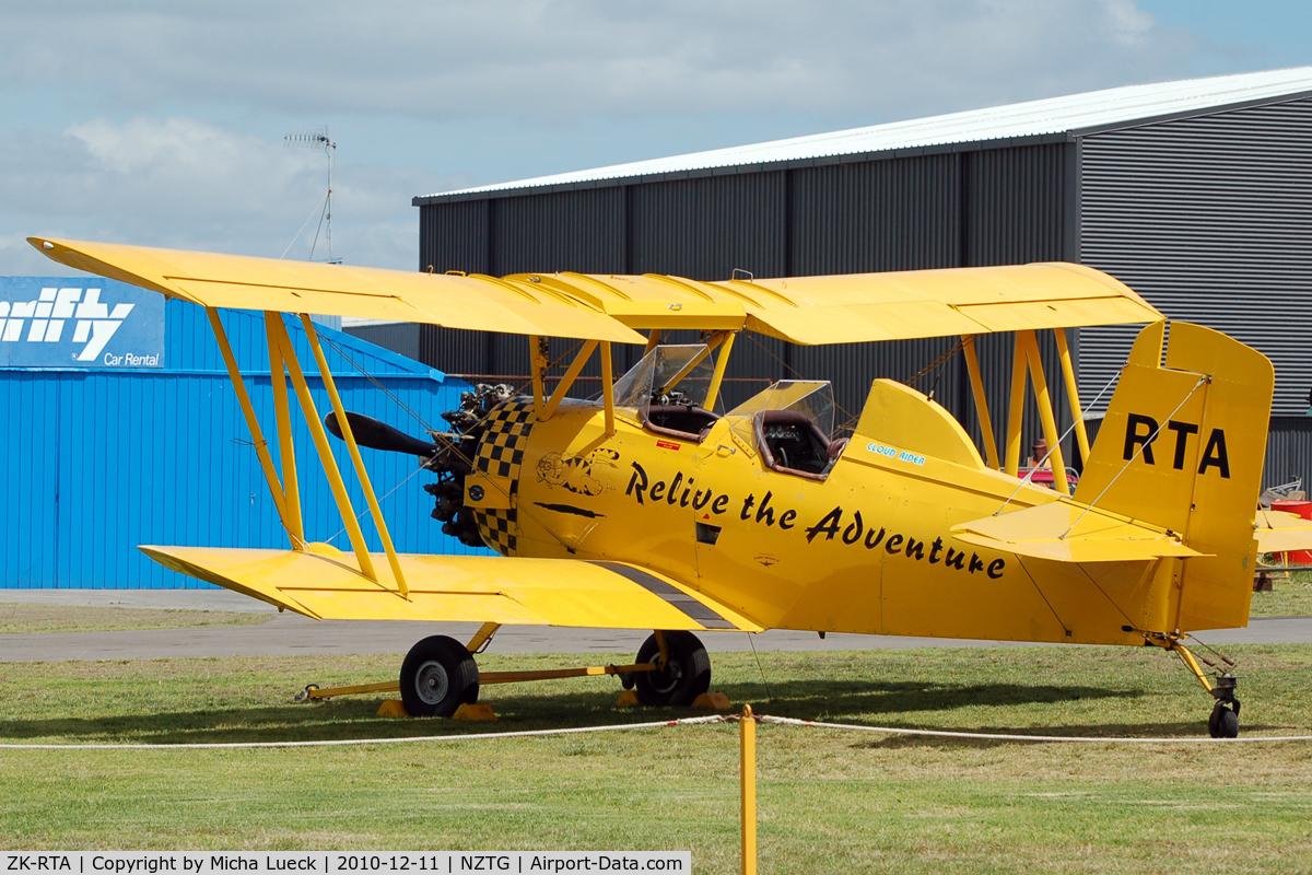 ZK-RTA, Grumman G-164A C/N 441, At Tauranga