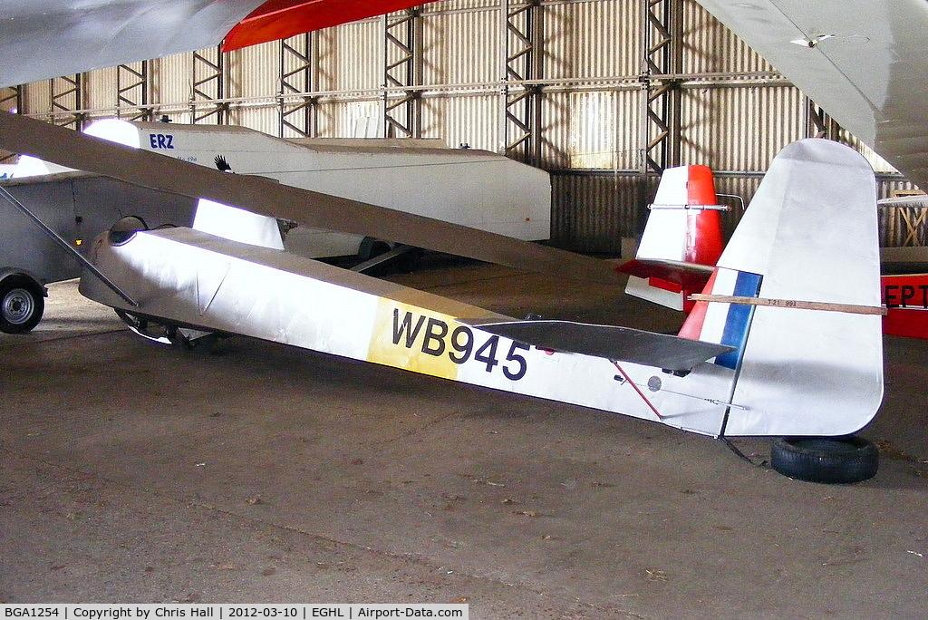 BGA1254, 1949 Slingsby T-21B Sedbergh TX.1 C/N 612, Lasham Gliding Society