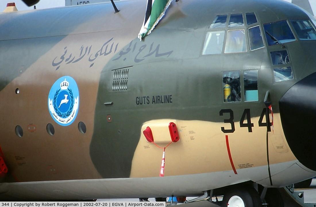 344, 1978 Lockheed C-130H Hercules C/N 382-4779, GUTS AIRLINE.