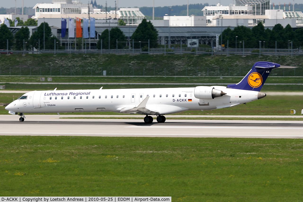 D-ACKK, 2006 Canadair CL-600-2D24 Regional Jet CRJ-900LR C/N 15094, DLH Regional