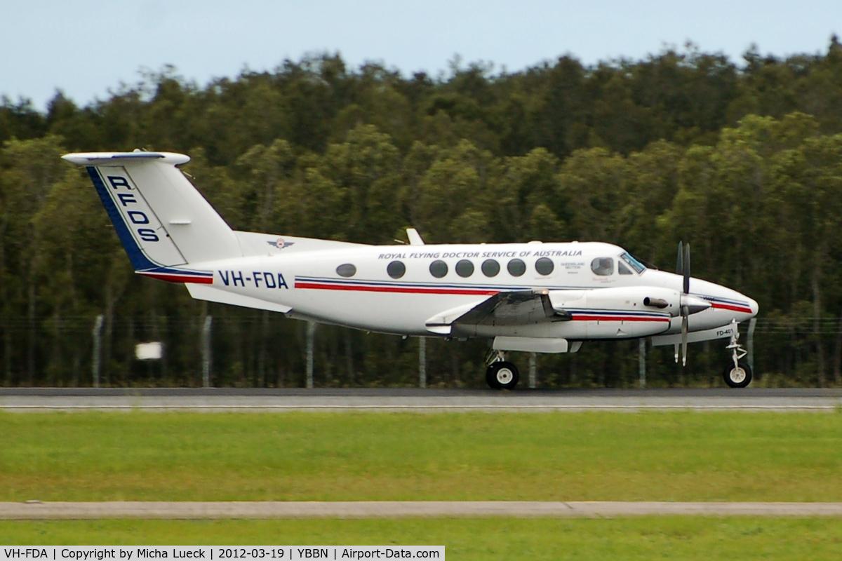 VH-FDA, Beech B200C King Air C/N BL-55, At Brisbane