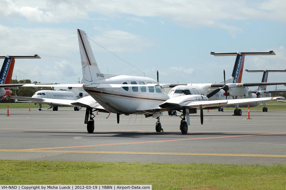 VH-NAD, 1981 Piper PA-31 Navajo C/N 31-8212004, At Brisbane
