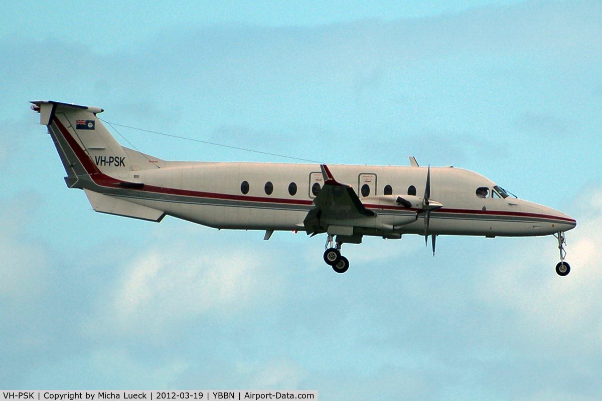 VH-PSK, 1998 Raytheon Aircraft Company 1900D C/N UE-311, At Brisbane - Queensland Police Service