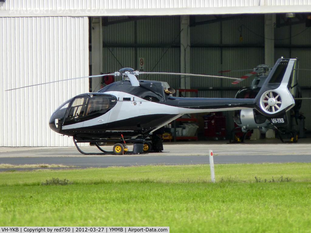 VH-YKB, 2009 Eurocopter EC-120B Colibri C/N 1627, VH-YKB at Moorabbin