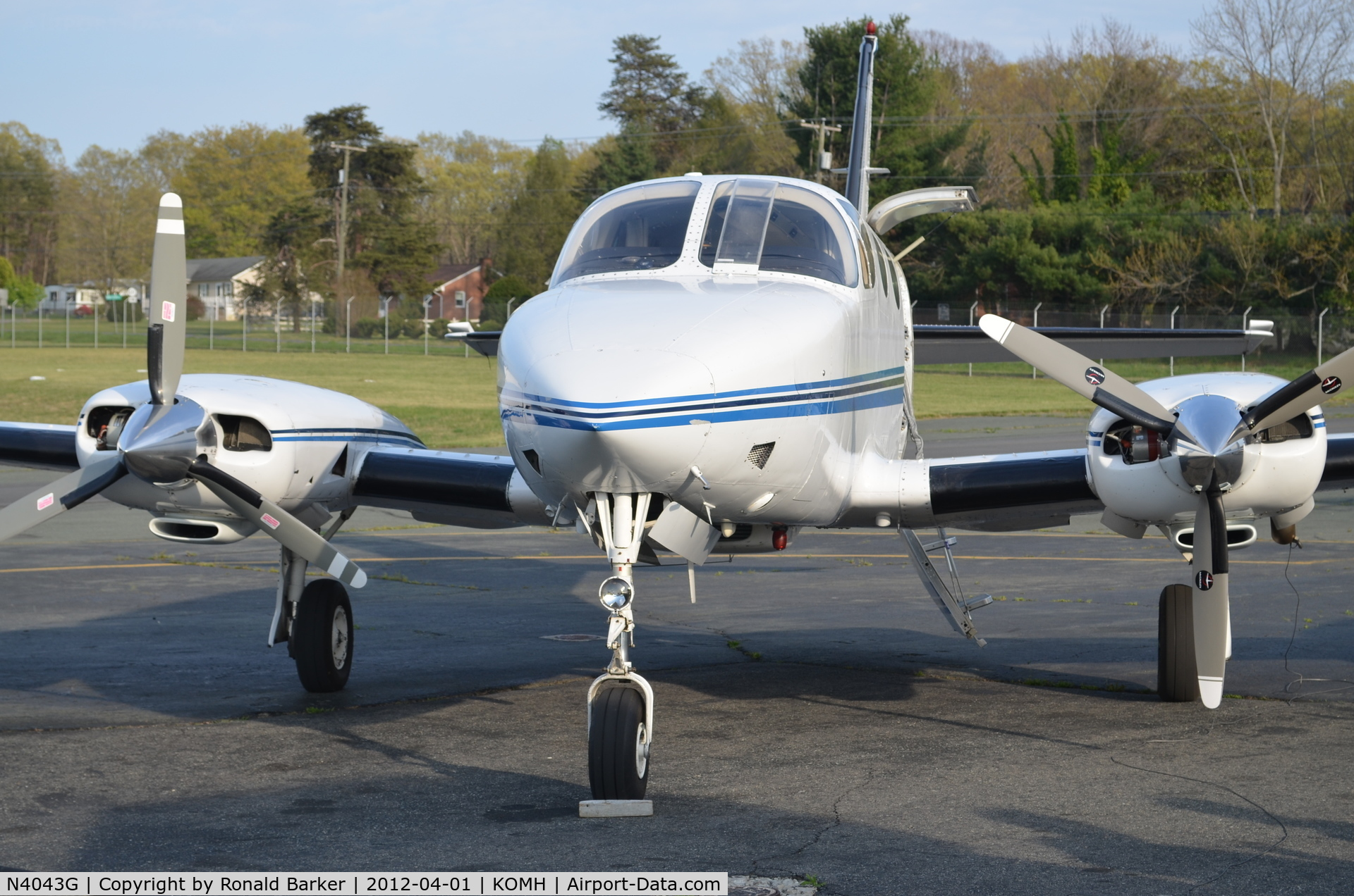 N4043G, 1977 Cessna 340A C/N 340A0266, Orange