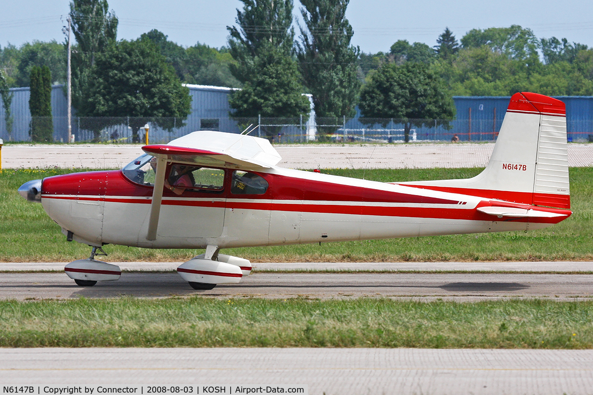 N6147B, 1957 Cessna 182A Skylane C/N 34147, EAA Airventure 2008.