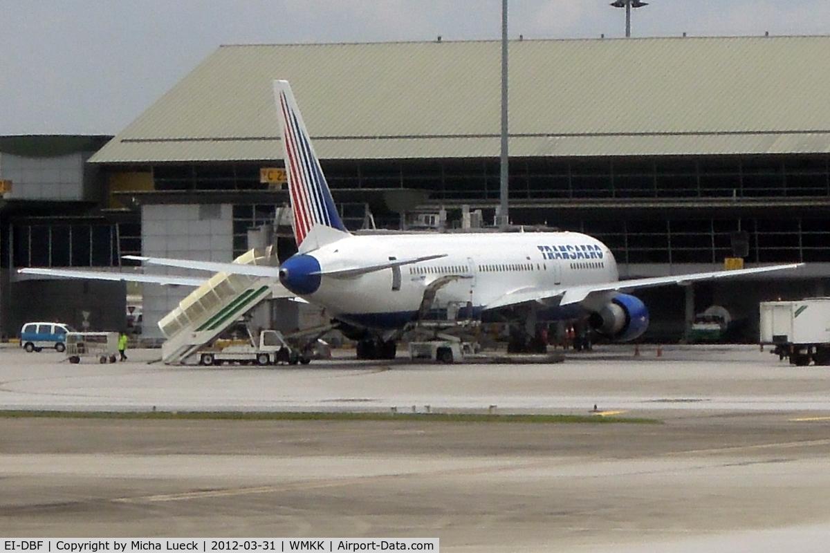 EI-DBF, 1991 Boeing 767-3Q8/ER C/N 24745/355, At Kuala Lumpur