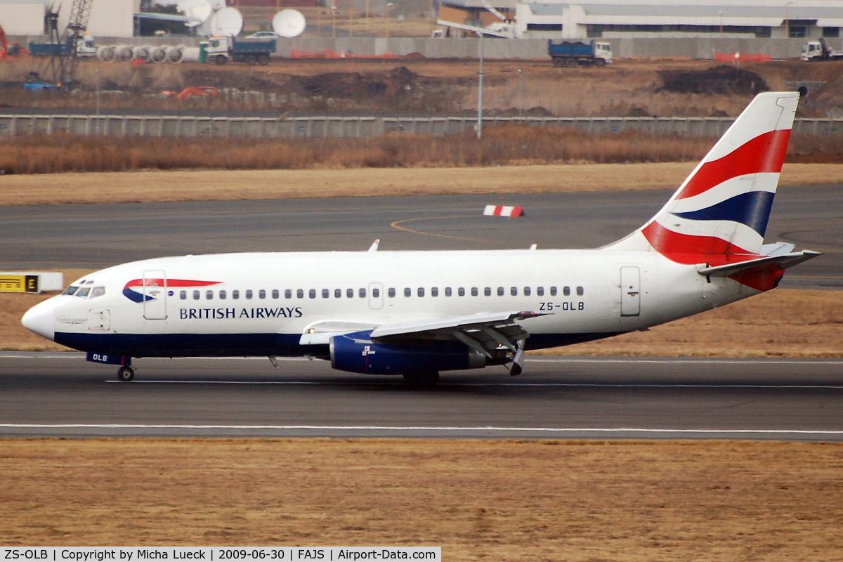 ZS-OLB, 1985 Boeing 737-236 C/N 23167, At Jo'burg