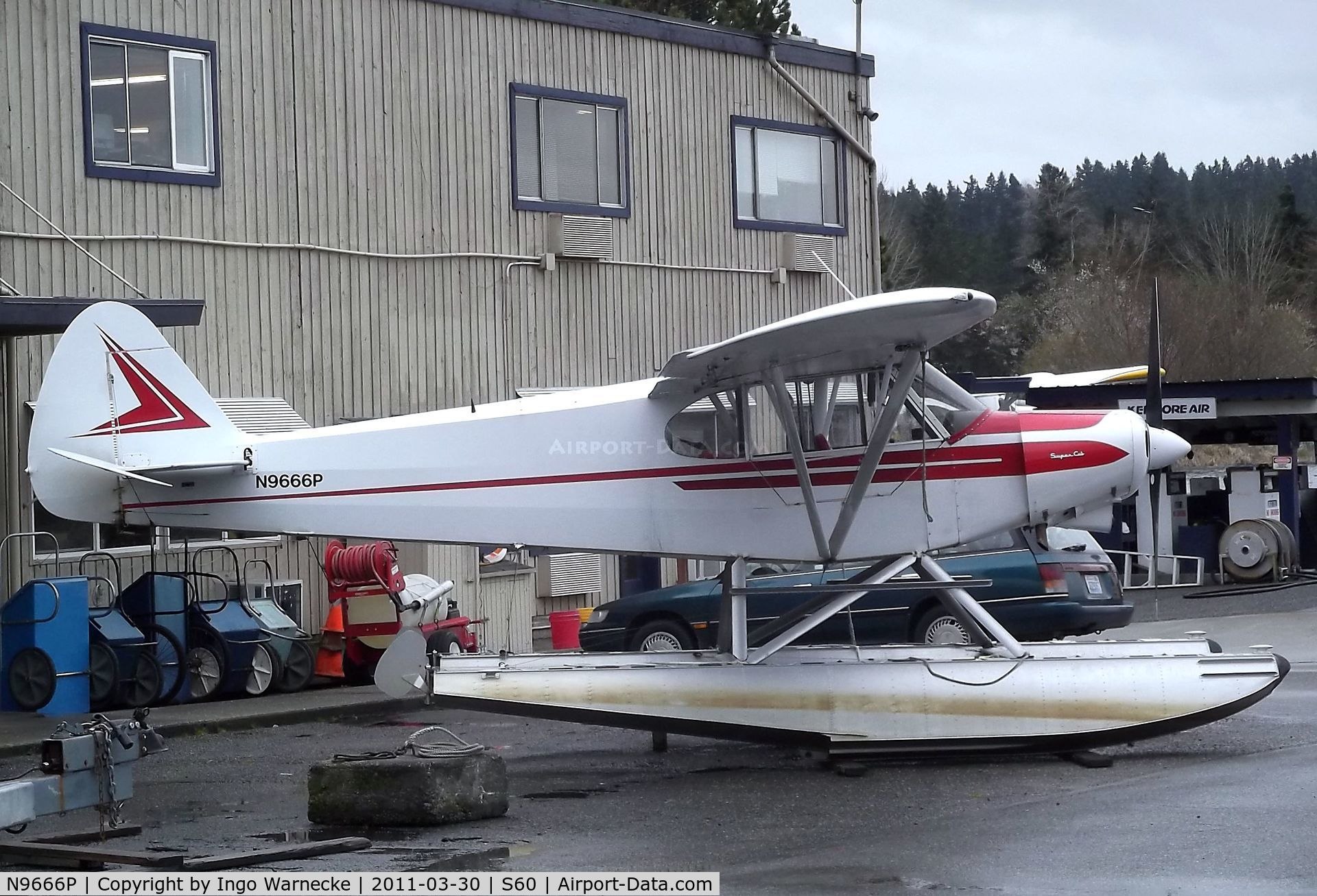 18 150 super cub c n 18 7509011 piper pa 18 150 super cub on floats