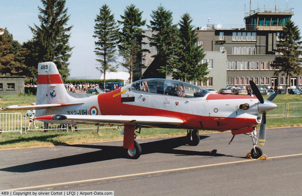 489, Embraer EMB-312F Tucano C/N 312489, Cambrai 1998 airshow