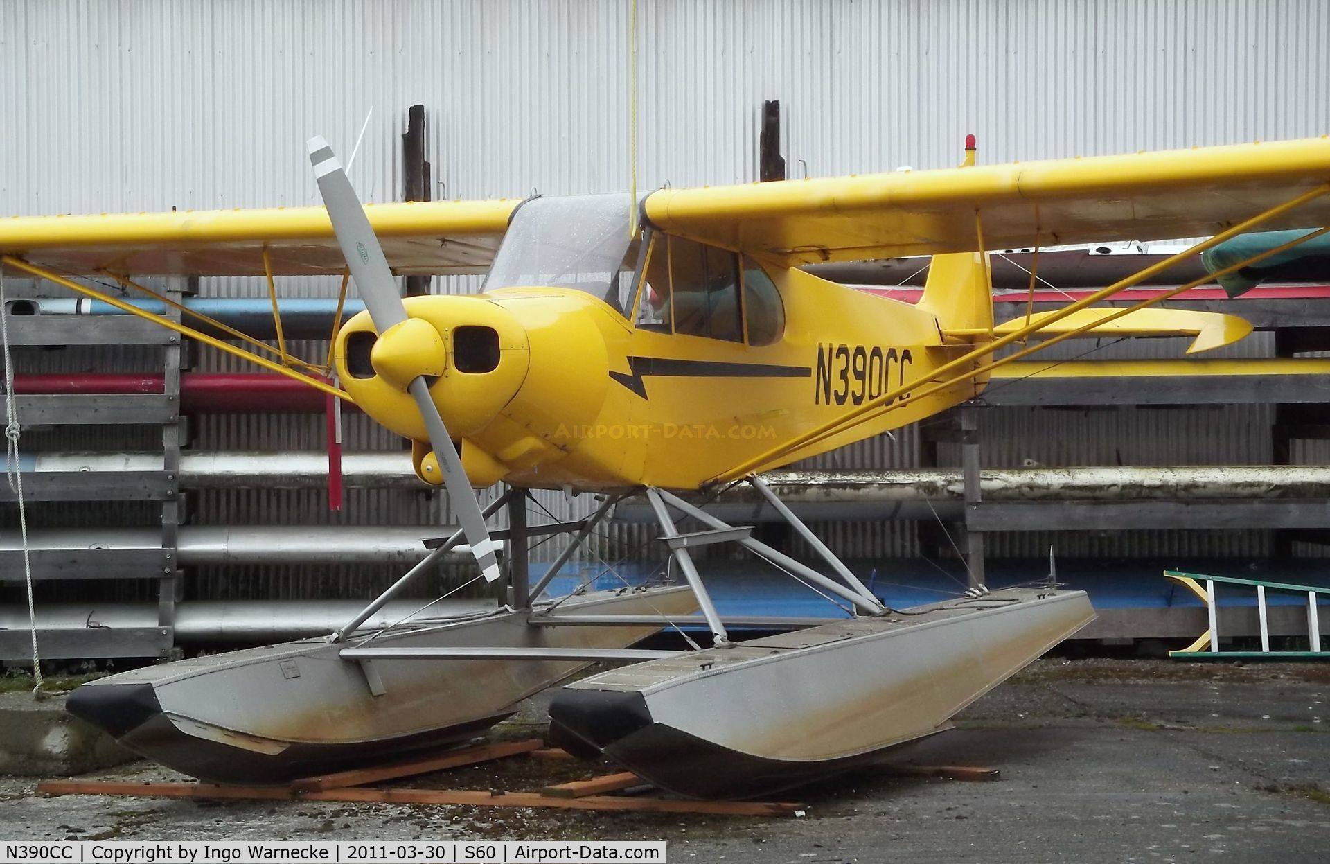 Pa 18 150 c n 9944cc piper cub crafters pa 18 150 top cub on floats