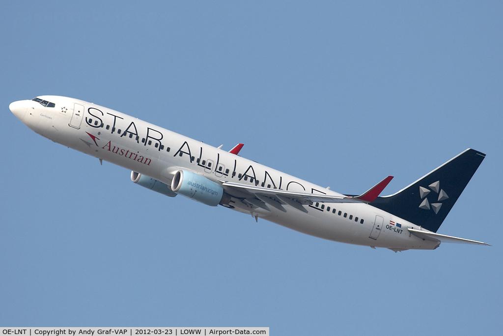 OE-LNT, 2006 Boeing 737-8Z9 C/N 33834, Austrian Airlines 737-800