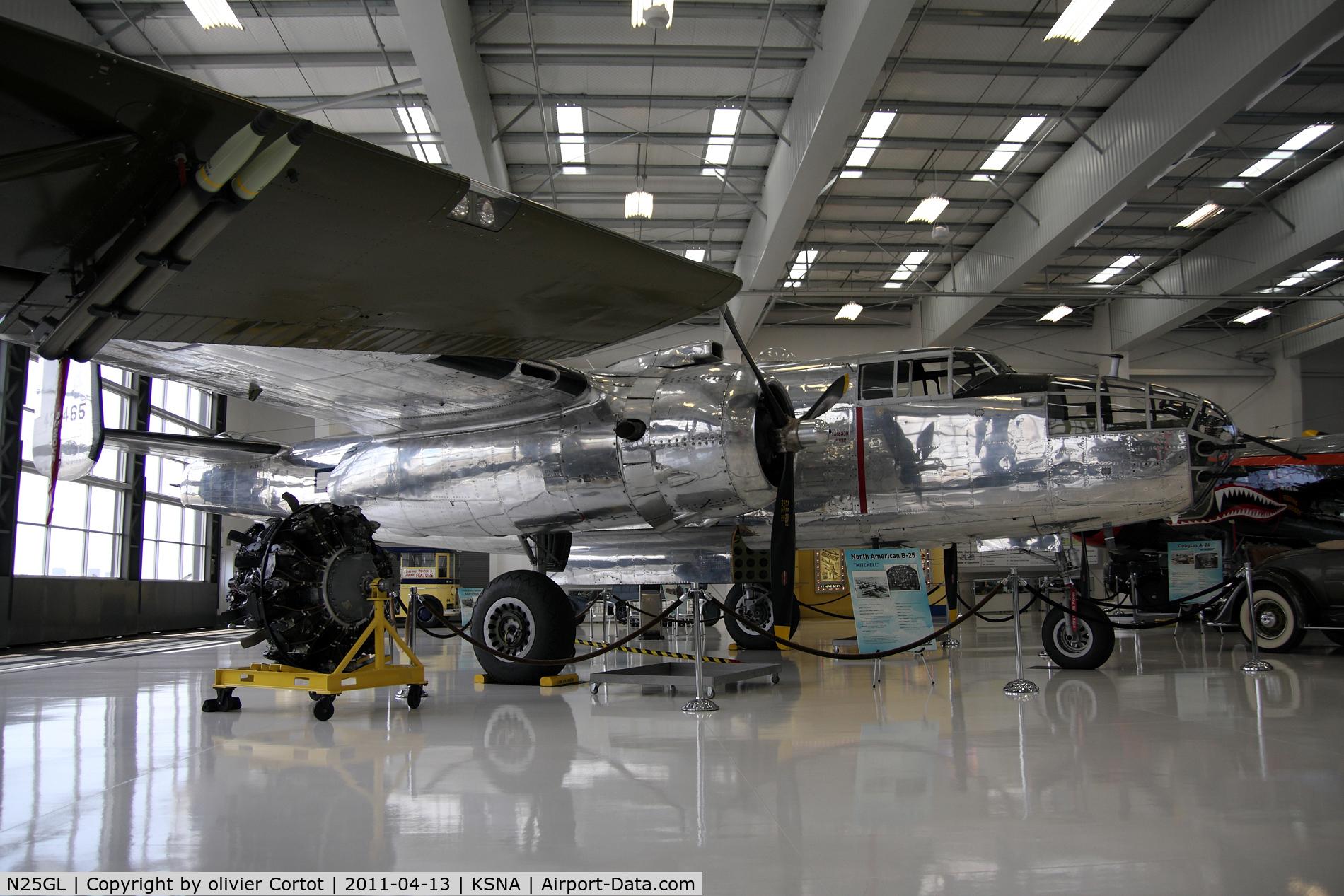 N25GL, 1944 North American TB-25N C/N 44-29465, Lyons air museum