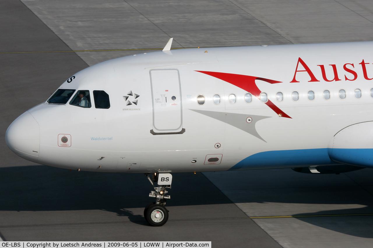 OE-LBS, 2000 Airbus A320-214 C/N 1189, named