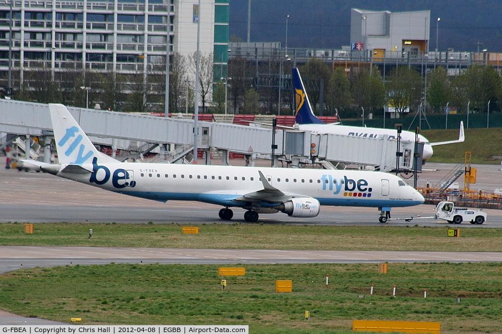 G-FBEA, 2006 Embraer 195LR (ERJ-190-200LR) C/N 19000029, Flybe