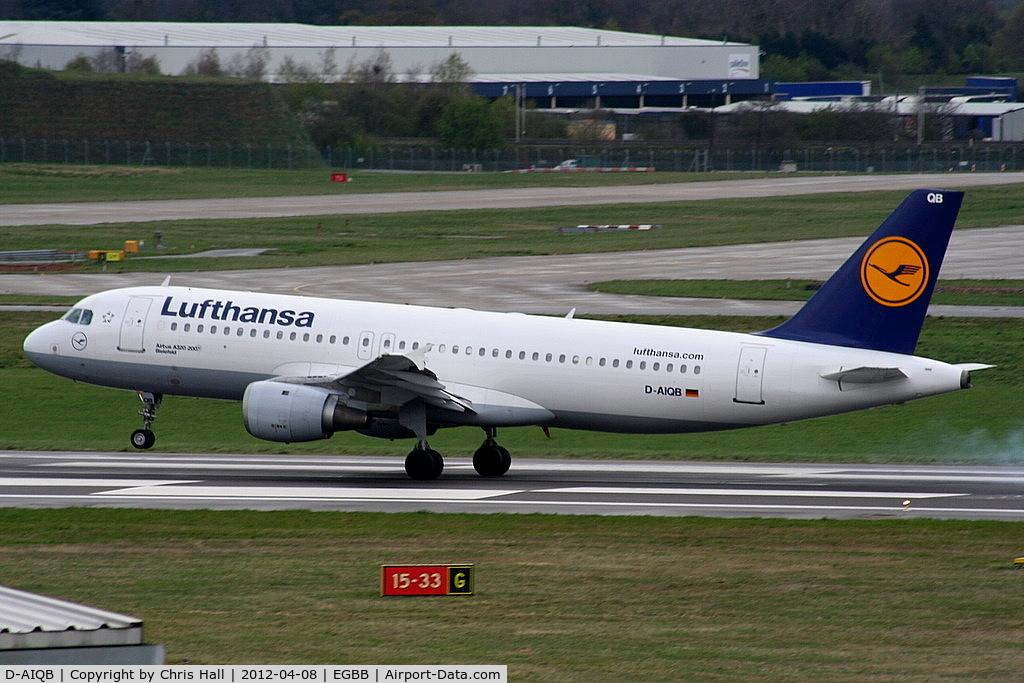 D-AIQB, 1991 Airbus A320-211 C/N 0200, Lufthansa