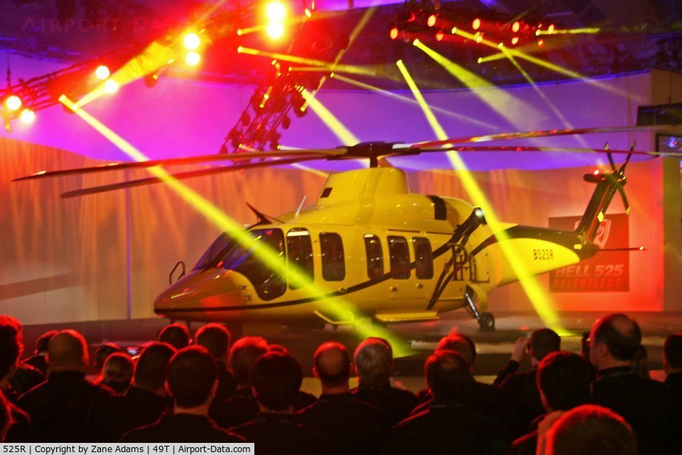 525R, 2012 Bell 525R (mock-up) C/N 0000, Bell Helicopter's new 525