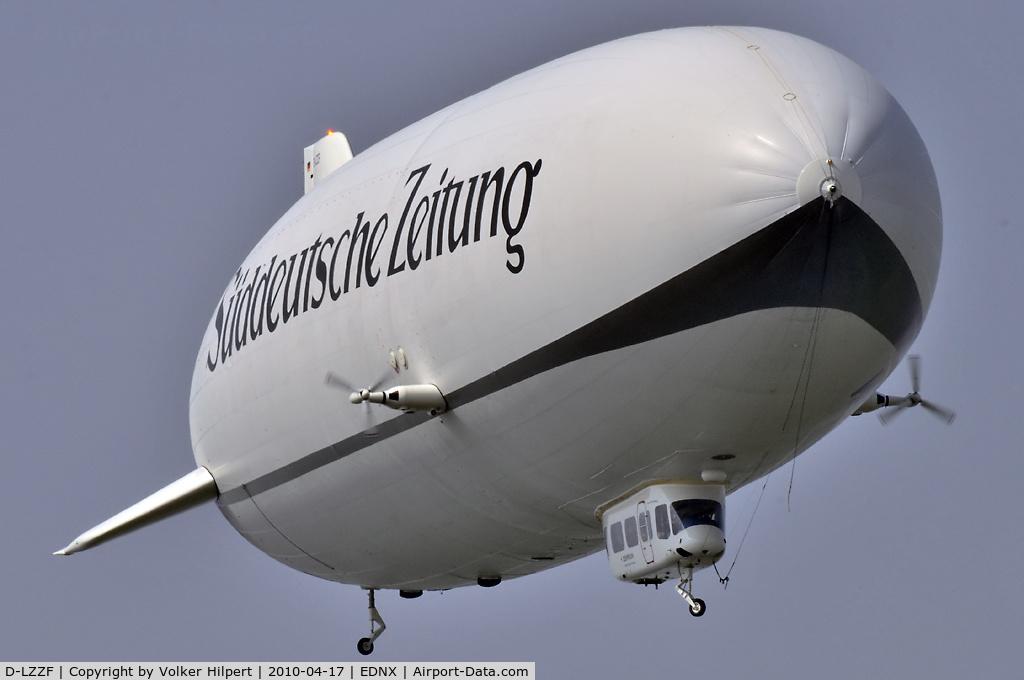 D-LZZF, 1998 Zeppelin LZ-N07 C/N 3, at Oberschleissheim