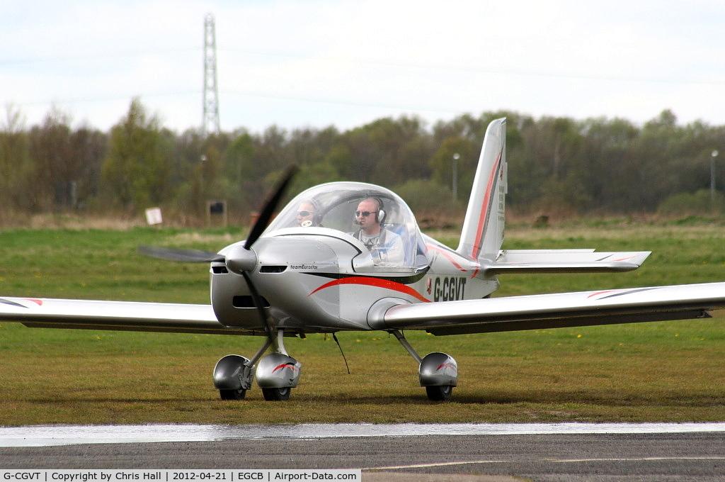 G-CGVT, 2011 Cosmik EV-97 TeamEurostar UK C/N 3402, Mainair Microlight School