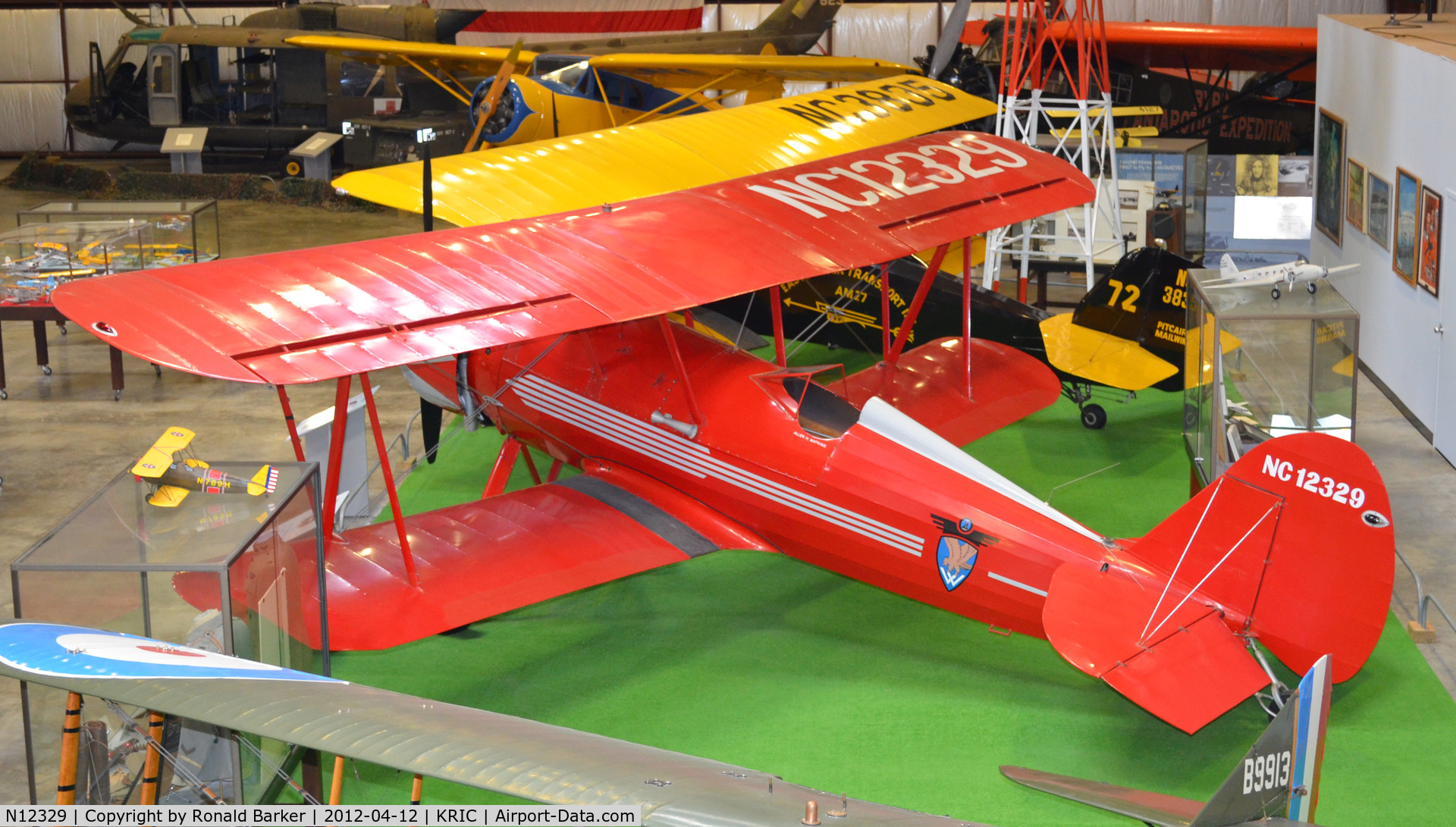 N12329, Curtiss-Wright Travel Air A-14-D C/N 2009, VA Aviation Museum