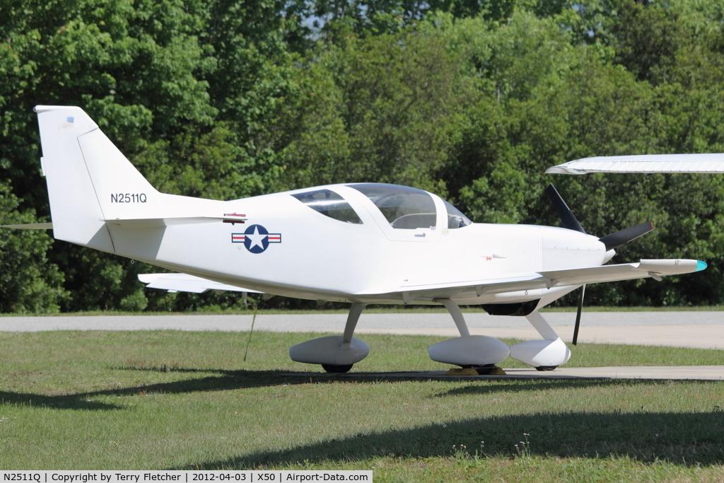 N2511Q, 2007 Stoddard-Hamilton Glasair Super II S C/N 1010, At Massey Ranch Airpark , Florida